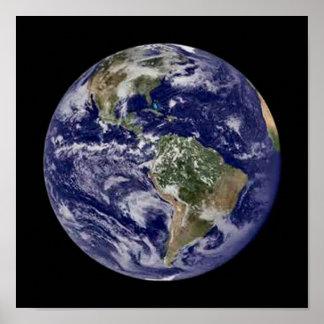 Full Earth Poster. Poster