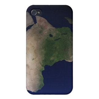 Full Earth showing Africa, Europe, & Middle Ea Covers For iPhone 4
