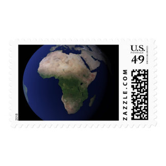 Full Earth showing Africa, Europe, &  Middle Ea Stamps