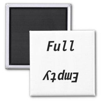 Full Empty refrigerator Magnet