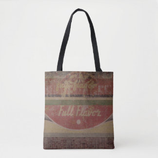 """""""Full Flavor"""" Ghost Sign Tote Bag"""