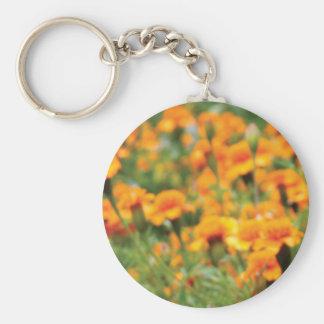 full flow of flowers keychain