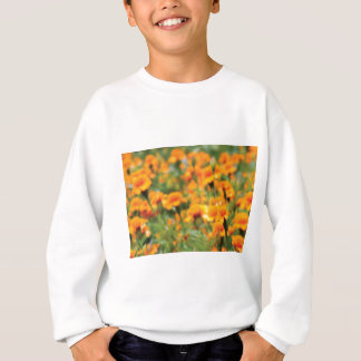 full flow of flowers sweatshirt