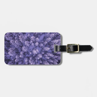 Full Frame Shot of Leaves Luggage Tag