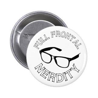 Full Frontal Nerdity 2 Inch Round Button