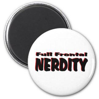 Full Frontal Nerdity #2 Fridge Magnets