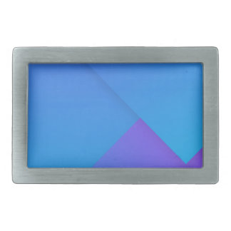 full gradient rectangular belt buckle