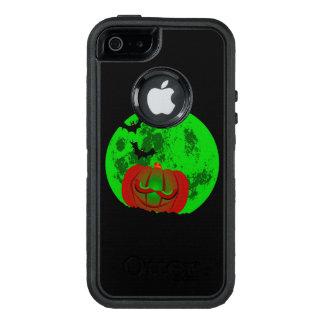 Full Halloween Moon OtterBox Defender iPhone Case