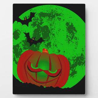 Full Halloween Moon Plaque