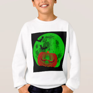 Full Halloween Moon Sweatshirt