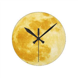 Full Harvest Moon Astronomy Wall Clock