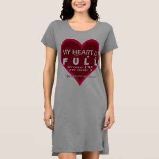 Full Heart Long Dick - Nighty T-Shirt