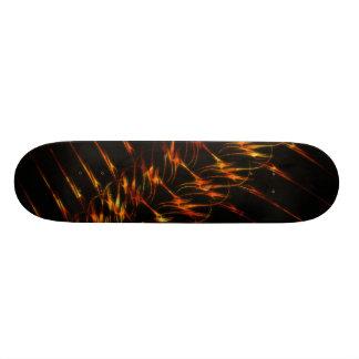 Full Kit: Custom Fire Graphics Skateboard