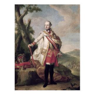 Full length portrait of Joseph II Postcard
