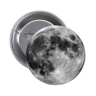 Full Moon 2 Inch Round Button