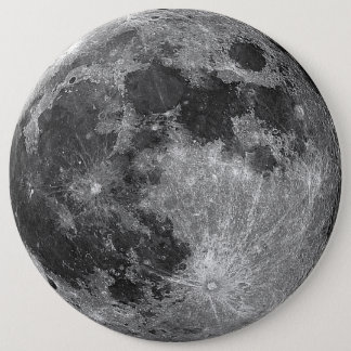 full moon 6 inch round button