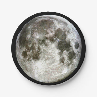 Full Moon 7 Inch Paper Plate