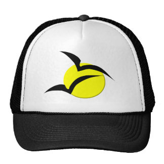 Full Moon and Bats Hat