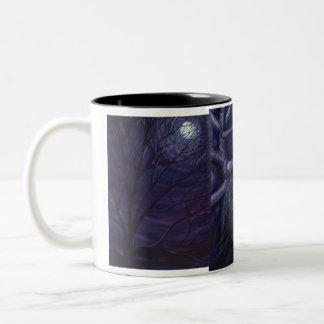 Full Moon and Nightsong mug