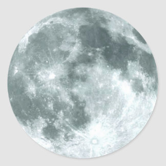FULL MOON Astronomy Stickers