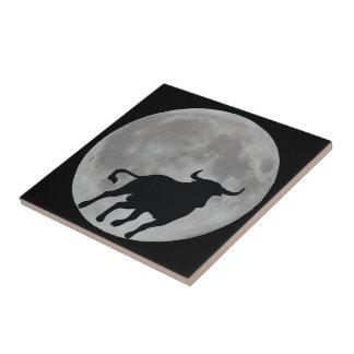 Full Moon - Brave Toro Running - M1 Tiles