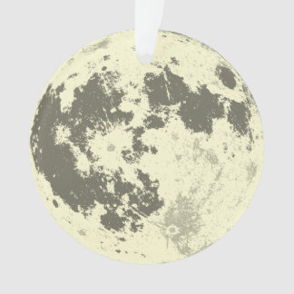 Full Moon Bright Supermoon Ornament