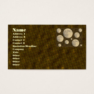 Full Moon Business Card