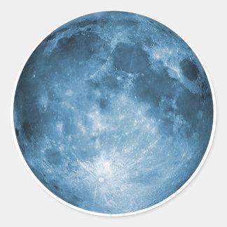 full-moon-calendar-14 classic round sticker