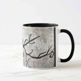 Full Moon Cat Bat Tree Halloween Mug