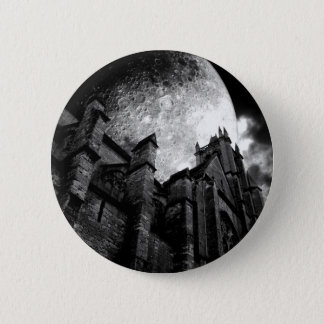 Full moon cathedral 2 inch round button