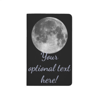 Full moon customizable products journal