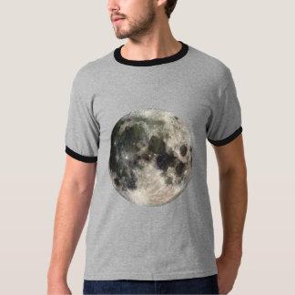 Full Moon Dark Ringer T-Shirt