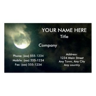 FULL MOON FEVER ~ PACK OF STANDARD BUSINESS CARDS