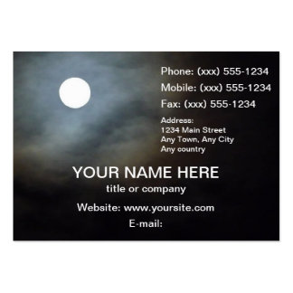 FULL MOON FEVER TOO ~ LARGE BUSINESS CARD