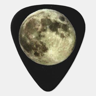 Full Moon Guitar Pick