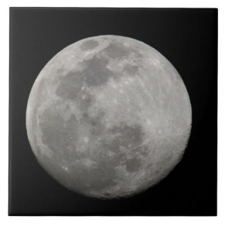 Full moon in black and white. Credit as: Arthur Tile
