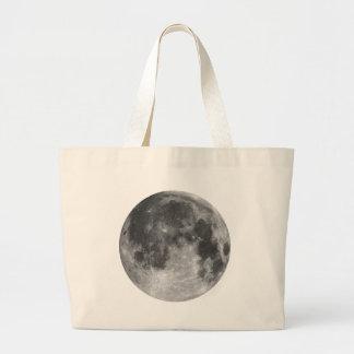 Full moon large tote bag