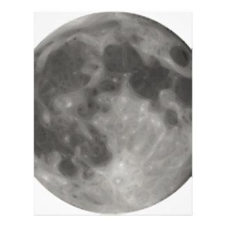 Full Moon Letterhead