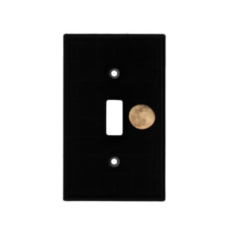 Full Moon Light Switch Cover