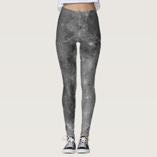 Full Moon Lunar Surface Leggings