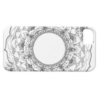 Full Moon Mandala iPhone 5 Covers