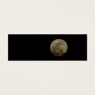 Full Moon Mini Bookmark Business Card
