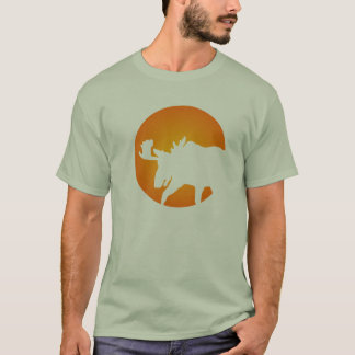 Full Moon Moose T-Shirt
