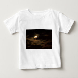 Full Moon of November hiding in the clouds Baby T-Shirt