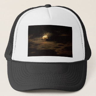 Full Moon of November hiding in the clouds Trucker Hat