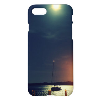 Full Moon Over Florida iPhone 7 Case