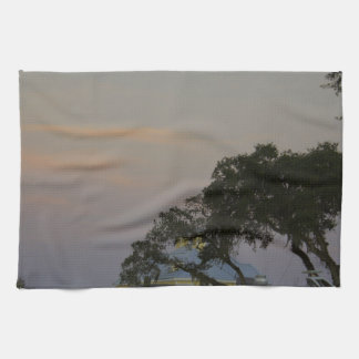 Full Moon Over Homosassa Hand Towels