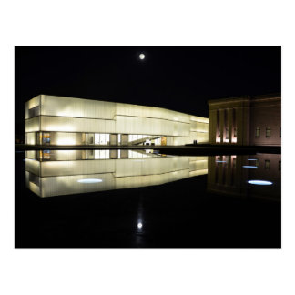 Full Moon over Nelson-Atkins Museum of Art Postcard