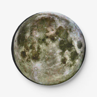 Full Moon Paper 7 Inch Paper Plate