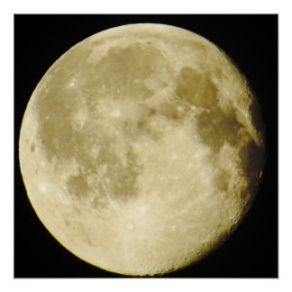 Full Moon Photo Poster Perfect Poster
